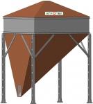 Бункера-накопители с конусным дном БНКД